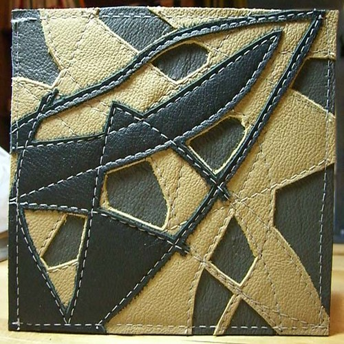 great ideas - a gallery on Flickr : leather quilt - Adamdwight.com
