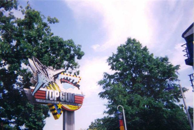 The Cedar Fair park, which used to be owned and operated by Paramount Parks, has a wonderful collection of coasters that includes everything from traditional woodies such as Hurler to a bone-rattling inverted coaster, Afterburn.