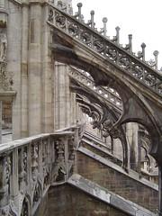 Flying Buttress (Duomo - Milan)