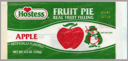 Hostess Fruit Pie Wrapper