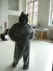 dog(0.0), pet(0.0), bouvier des flandres(0.0), cairn terrier(0.0), animal(1.0), textile(1.0), fur(1.0), mammal(1.0),