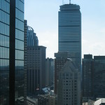 Boston - Back Bay: Prudential Tower and Hancock Tower