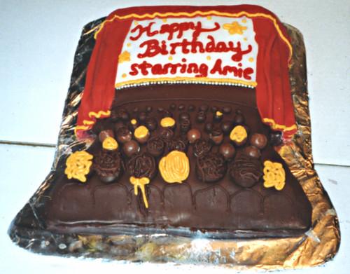 Cinema Camera Birthday Cake