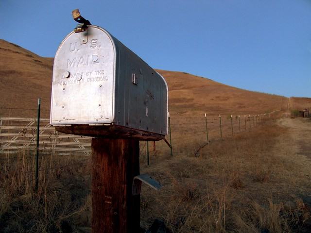 Mailbox Mailbox Near The Milpitas Dog Park At Ed Levin