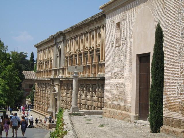 The Alhambra - Palacio De Carlos V