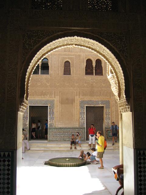 The Alhambra - Palacio Nazaríes - Patio del Cuarto Dorado 1
