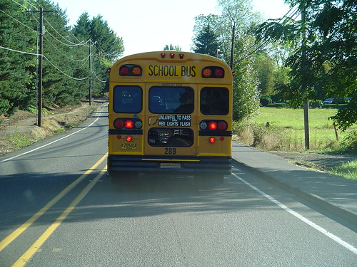 School Has Started, School Bus