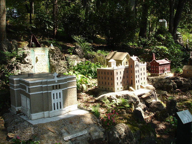 St. Bernard Campus in Miniature at Ave Maria Grotto, Cullman AL