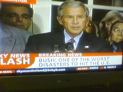 Bush: One of the Worst Disasters to Hit the U.S.