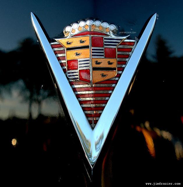 1947 Cadillac Emblem
