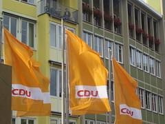 CDU-Fahnen
