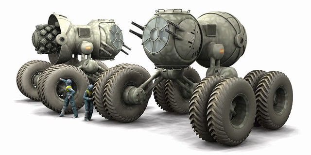 All Terrain Military Vehicles