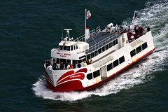 ferry, motor ship, vehicle, ship, sea, watercraft, boat,