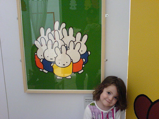Miriam and Miffy