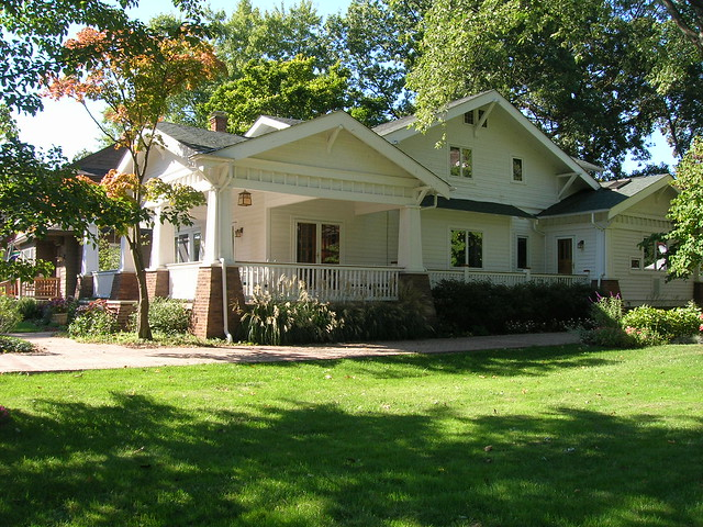 Craftsman House Bungalow Columbus Oh A Photo On