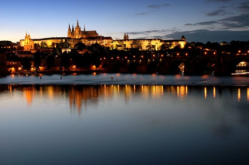 Prague cathedral and castle