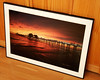 "Framed print of ""Naples Fishing Pier"" by vireo322"