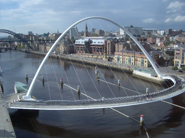 Millenium Bridge - Newcastle/Gateshead