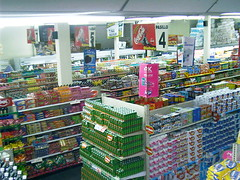 supermarket, convenience store, building, grocery store, retail-store,