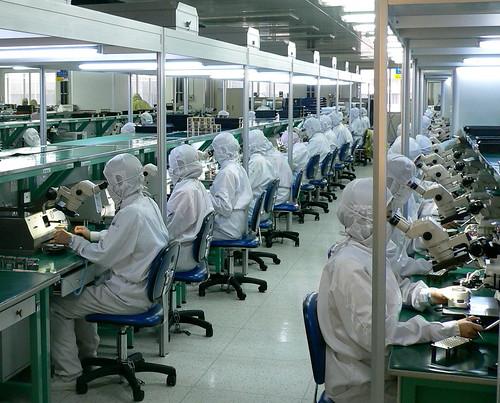 les travailleurs chinois