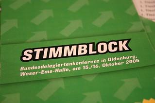 "BDK: ""Stimmblock"""
