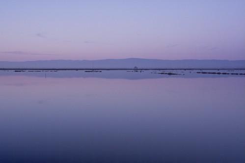 blue sky seascape reflection nature water colors sunrise reflections landscape bay shoreline shore backwaters saltponds marshlands vividelangs elangs