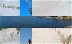 Finnische Flagge aus Fotos zusammengesetzt. Photo: hugovk / flickr. Creative Commons Licence Namensnennung, nicht kommerziell, Weitergabe unter gleichen Bedingungen