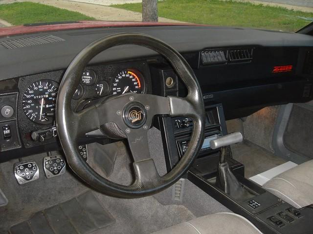 1987 Camaro Z28 Dash Brad Fults Flickr