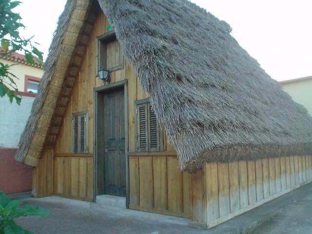 Maison Traditionnelle De Santana Tout En Bois Flickr
