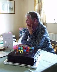 Nanna's 87th birthday party on Sunday 13th November 2005