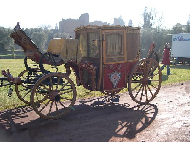 18th Century Carriage At Hadrian S Villa Flickr Photo