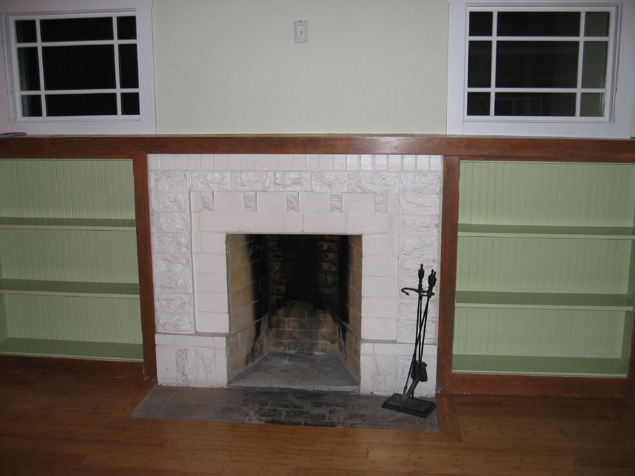 Fireplaces With Bookcases Houses Plans Designs