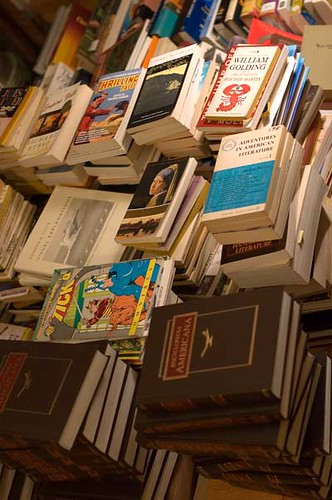 [A pile of books]