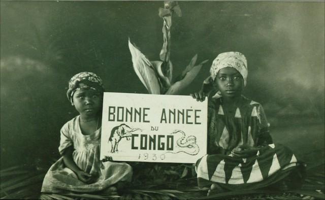 Bonne Annee du Congo 1930