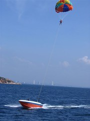surface water sports, vehicle, sports, sea, parasailing, windsports, wind, extreme sport, water sport,
