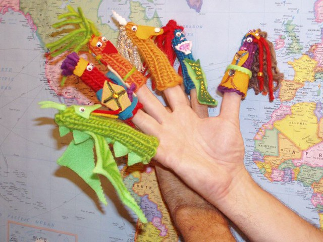 Brighter Photo of Finger Puppets