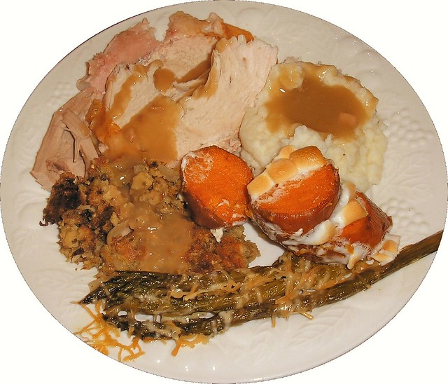 Thanksgiving Dinner Plate | All the trimmings. | By: David ...