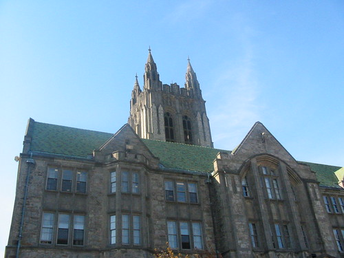 Hall at Boston University