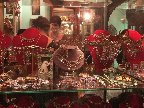 Victorian costume jewellery. Christmas on Bond Street.