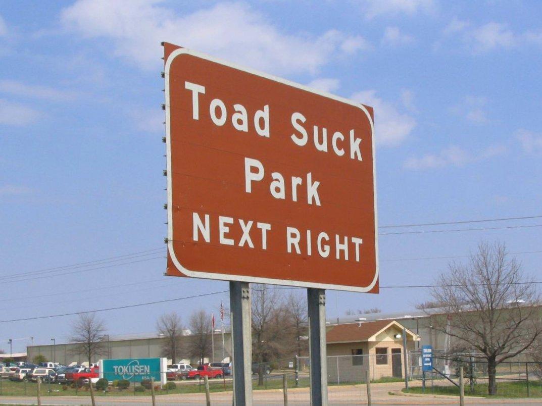 Cleveland arkansas to toad suck arkansas
