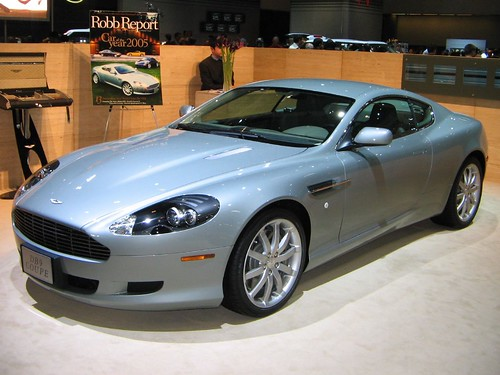 Aston Martin DB9 Coupe - LA Car Show 2005
