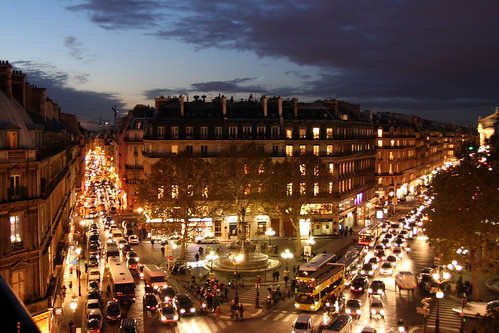 Nighttime Paris traffic | by Nelson Minar