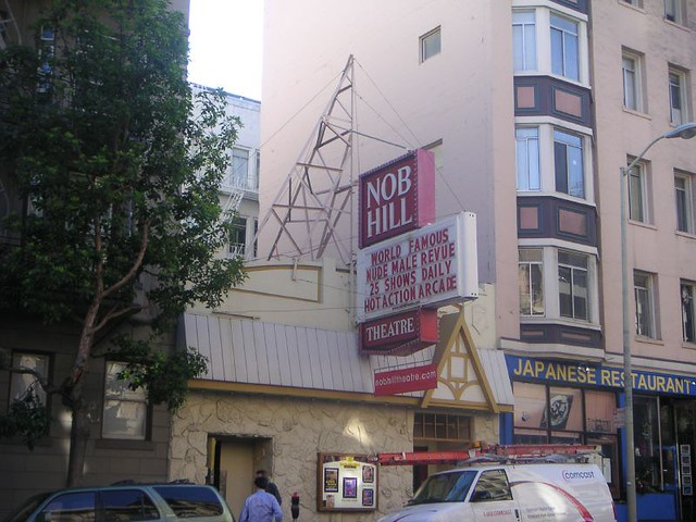 Nob Hill Theatre San Francisco January 2005 Flickr