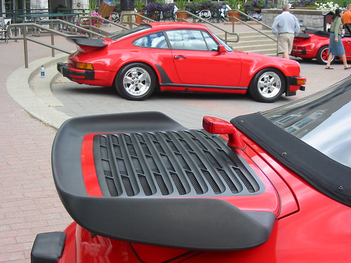 Red 911's at PCA-CWR Whistler 2005
