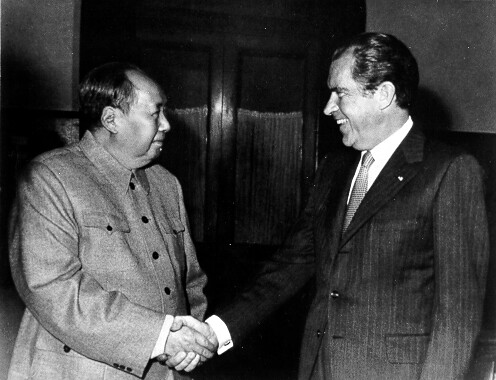 Mao Meeting with U.S. President Richard M. Nixon