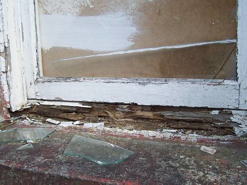 Window Frames Rotten Window Frame