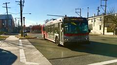 WMATA Metrobus 2006 New Flyer D40LFR #6191