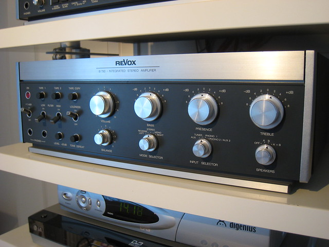 revox b750 amplifier flickr photo sharing. Black Bedroom Furniture Sets. Home Design Ideas
