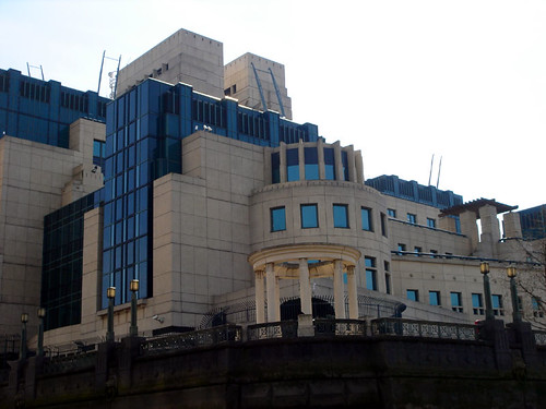 The Establishing Shot: MI6 Film Location used in James Bond Die Another Day - Vauxhall Cross, London by Craig Grobler