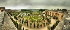 Parc et château de Versailles. Paris. France